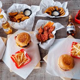 Frango Wings And Burgers