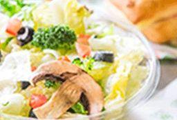 Blatt Salat Haus