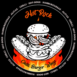 Hot Rock Chilli Burger Wings