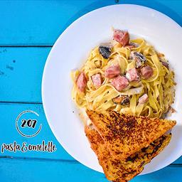 207 Pasta & Omelette