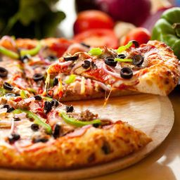 Pizzas a la Lena Sorrento
