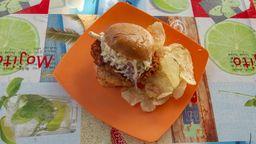 Bt A La Chicken Burger
