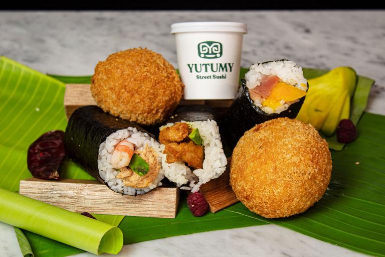 Logo Yutumy Street Sushi
