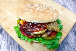 Green Vegan Burger