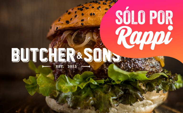 Logo Butcher & Sons