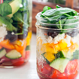 Up Jar Salads