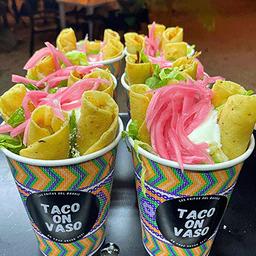 Taco On Vaso