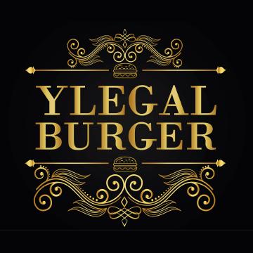 Logo Ylegal Burger- Popotla