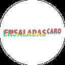 Ensaladas Caro background