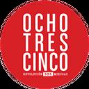 Ocho Tres Cinco background
