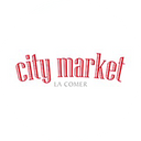 City Market. background