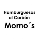 Hamburguesas al Carbón Momos background