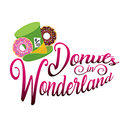 Donuts in Wonderland background