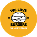 We Love Burgers background