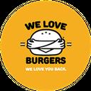 We Love Burgers background