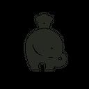 Elefante background