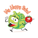 My Happy Salad background