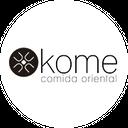 Kome Comida Oriental background