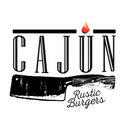 Cajún Rustic Burgers background