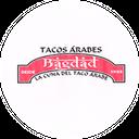 Tacos Arabes Bagdad background
