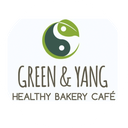 Green y Yang Healthy Bakery Café background