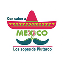 Los Sopes de Plutarco con Sabor a Mexico background