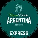 Tacos Fonda Argentina Express background