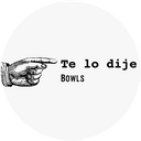 Te lo Dije Bowl background