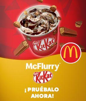 McFlurry Kit Kat