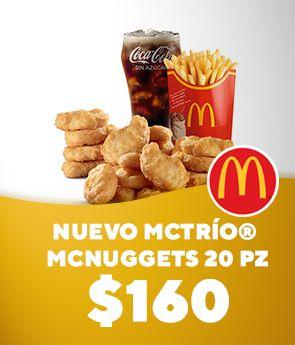 McTrío® Grande Nuggets de Pollo 20 Piezas