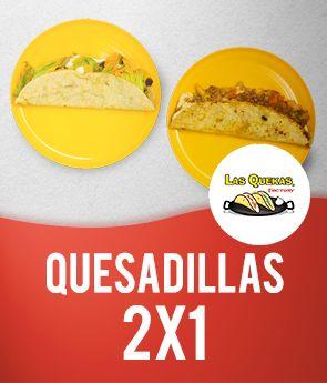2x1 quesadilla sencillas