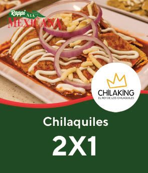 Chilaking Chilaquiles 2x1